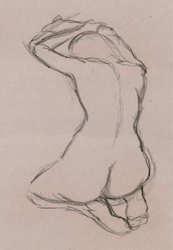Recently started figure drawing | Classical Fine Art and